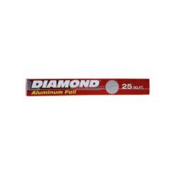 DIAMOND ALUMINUM FOIL 25ft