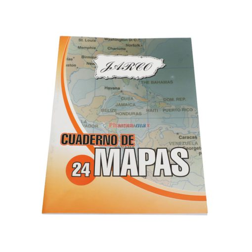 JARCO CUADERNO DE 24 MAPAS