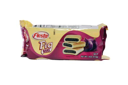 FIESTA FIG BARS LOW FAT 4oz