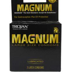 TROJAN MAGNUM LARGE 3pk
