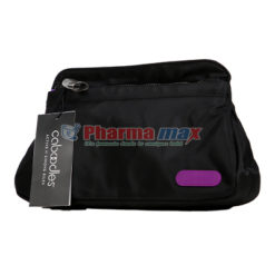 CABOODLES COSMETIC BAG BLK LG