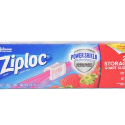 ZIPLOC SLIDER STOR QT 20 BAGS