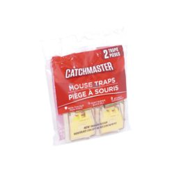 CATCHMASTER MOUSE TRAP 2pc
