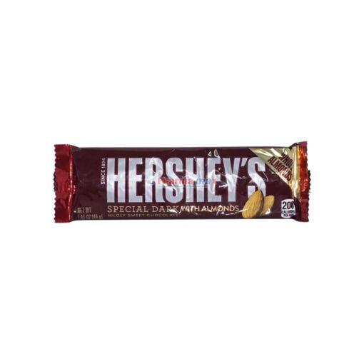 HERSHEY DARK W/ALMONDS 1.45oz