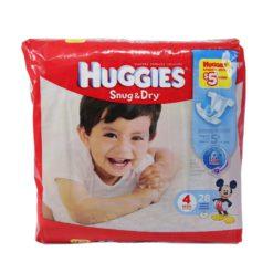 HUGGIES SNUG & DRY #4 28ct