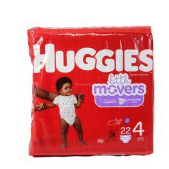 HUGGIES LITTLE MOVERS #4 22ct