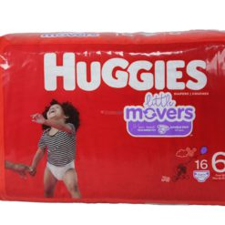 HUGGIES LITTLE MOVERS #6 16ct