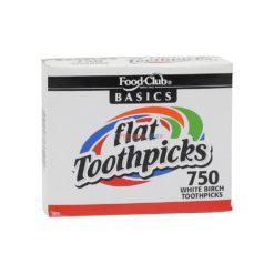 FC FLAT TOOTHPICKS 750ct