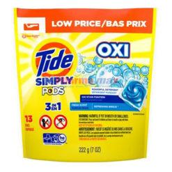 Tide Simply Pods Oxi Frsh13Pk
