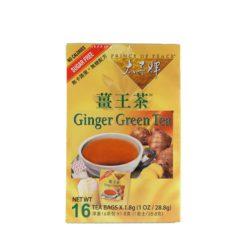 POP GINGER GREEN TEA S/F 16BAG