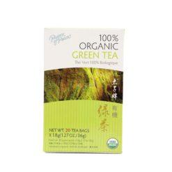 POP ORGANIC GREEN TEA 20 BAGS
