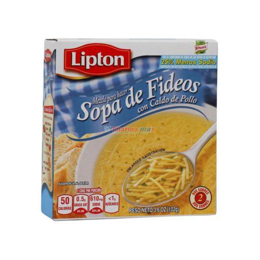 LIPTON SOPA FIDEOS L/SOD 3.6oz