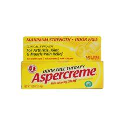 ASPERCREME MAX/STRENGTH 1.25oz