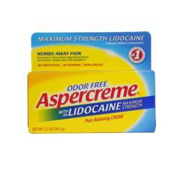 ASPERCREME LIDOCAIN CREM 2.7oz