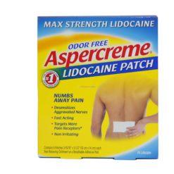 ASPERCREME LIDOCAINE PATCH 5ct