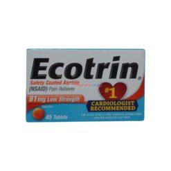 ECOTRIN LOW STREN 81mg 45 TAB