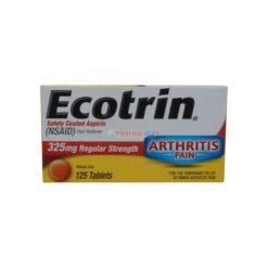 ECOTRIN ARTHRIT 325mg 125 TAB