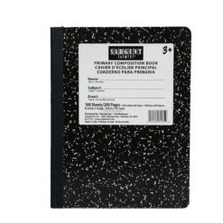 SARGENT COMP/BOOK PRIMRY 100sh