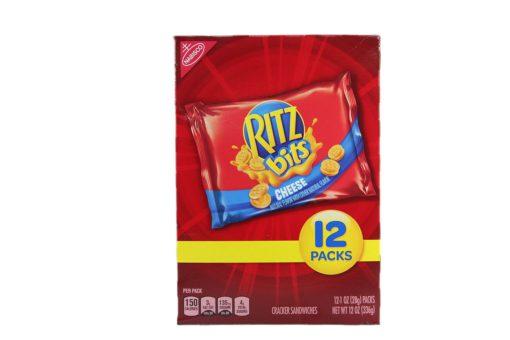 NABISCO RITZ BITS CHEES 12/1oz
