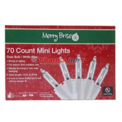 MB 70 Count Mini Light White Wre