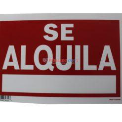 ROTULO SE ALQUILA