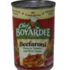 CHEF BOYARDEE BEEFARONI 15oz