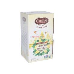CELESTIAL S LEMON/MRG TEA 20ct