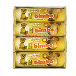 Bimbo Mini Cakes Banana 4pk