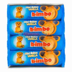 Bimbo Mini Cakes Vanilla 4pk