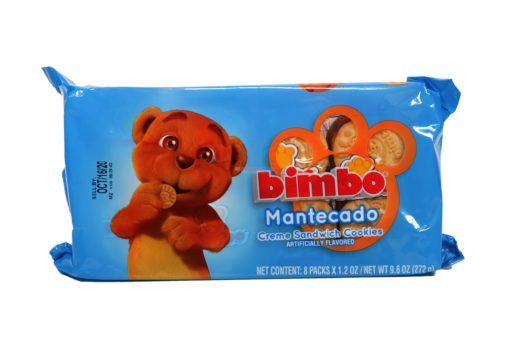 BIMBO MANTE COOKIES 8/1.16oz