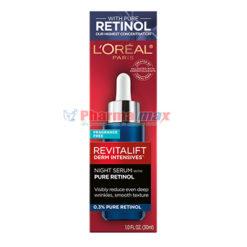Loreal Revitalif Night Serum Pure Retinol 1oz