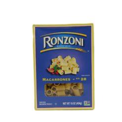 RONZONI MACARRONES 1LB