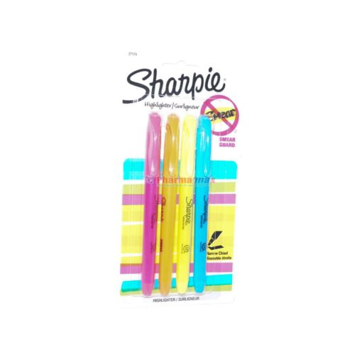 SHARPIE HIGHLIGHTER N/CHSL 4pk