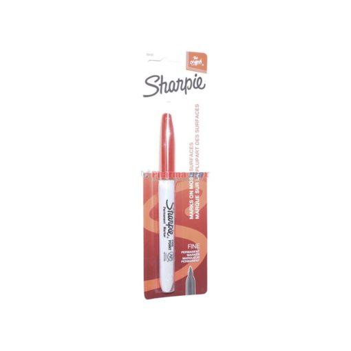 SHARPIE PERMANENT FINE RED