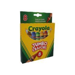CRAYOLA JUMBO CRAYONS 8ct