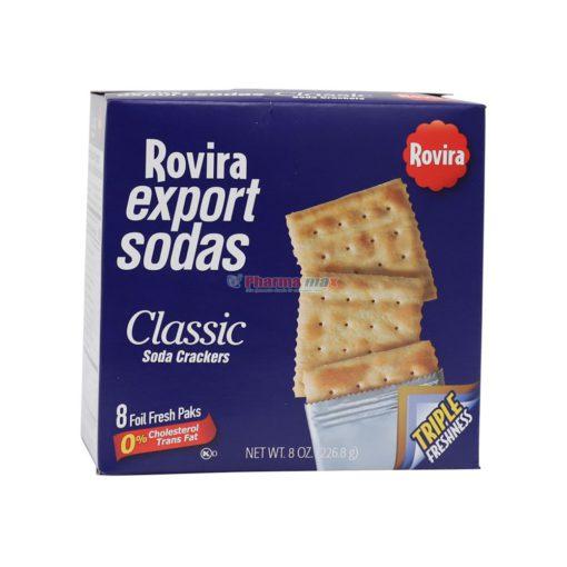ROVIRA EXPORT SODAS 8oz