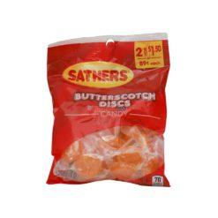 SATHERS BUTTERSCOT DISCS 3.6oz