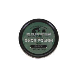 GRIFFIN SHOE POLI BLK 1 1/8oz
