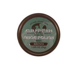 GRIFFIN SHOE POLI BRWN 1 1/8oz