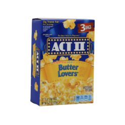 ACT II POPCORN BUT/LOVER 3/78g