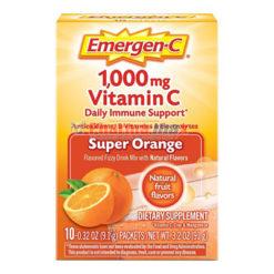 Emergen-C 1,000mg Orange 10pk