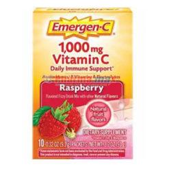 Emergen-C 1,000mg Raspberry 10pk