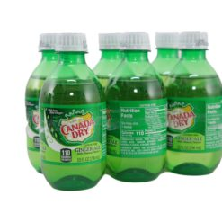 CANADA DRY GINGER ALE 6/10oz