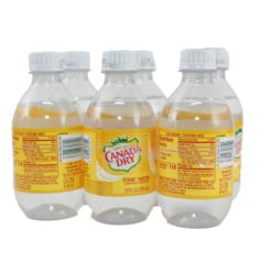CANADA DRY TONIC WATER 6/10oz