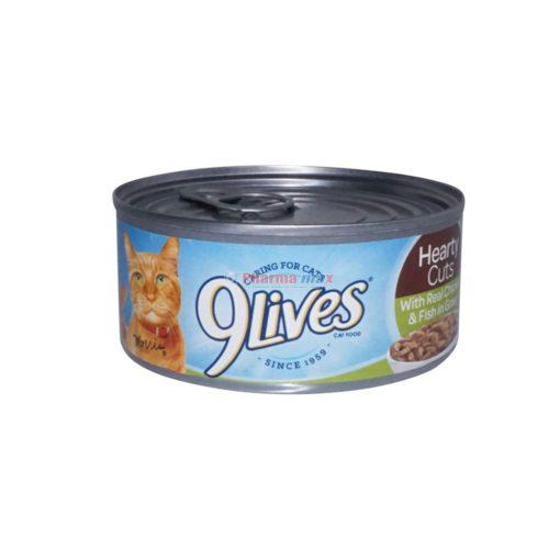 9LIVES CHICKEN&FISH GRA 5.5oz