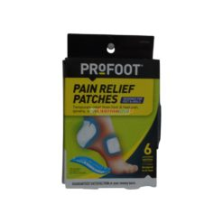 PROFOOT PAIN REL PATCHES 6ct