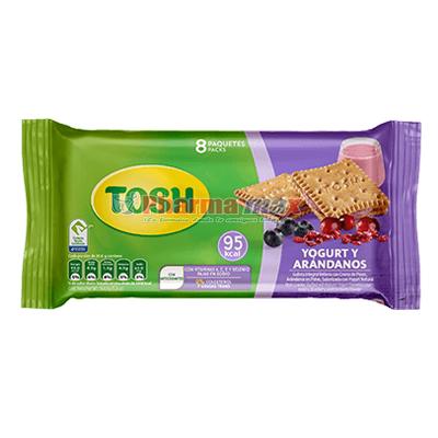 Tosh Yogurt Cranberry 8-5.8oz