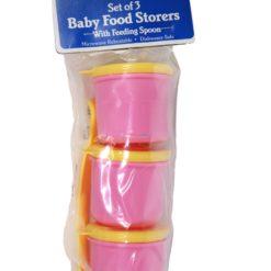 BABYKING BABY FOOD STORER 3pc