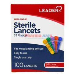 Leader Lancets 33g 100ct