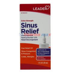 Leader Sinus Relief Ext/Strng30Ml